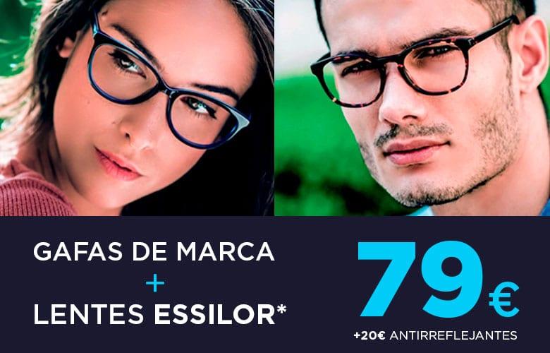 011133476d Montura + Lentes Essilor 79€e. Aprovecha la oportunidad y llévate unas gafas  completas: monturas de marca con Lentes Essilor incluidos por sólo ...